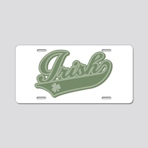 Irish [Baseball Style] Aluminum License Plate